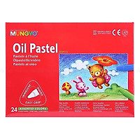 Bút sáp dầu Mungyo 24 màu MOPT-24
