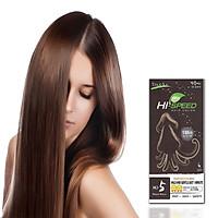 Thuốc nhuộm tóc phủ bạc MONGMULMORI 1MINUTE HAIR COLOR CREAM  Hàn Quốc màu nâu tự nhiên 60g