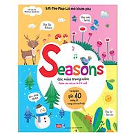 Sách Tương Tác - Lift-The-Flap-Lật mở khám phá - Seasons - Các mùa trong năm