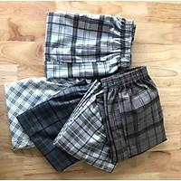 Quần short nam, quần đùi nam, Combo 5 quần nam họa tiết kẻ karo trẻ trung-năng động