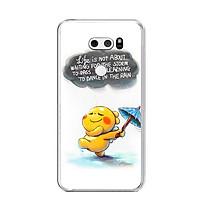 Ốp lưng dẻo cho điện thoại LG V30 - 0009 RAIN01 - Hàng Chính Hãng