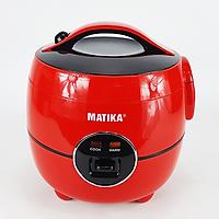 Nồi cơm điện Matika MTK-RC10 -  Hàng Chính Hãng