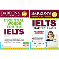 Combo 2 Cuốn :  Barron'S_IELTS Practice Exams 3rd Edition + Essential Words For The IELTS 3rd Edition (Tái Bản)