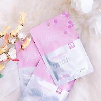 (Hộp 5 cái) Mặt Nạ Siêu Dưỡng Ẩm Nhật Bản Alface Aqua Moisture Sheet Mask Diamond Moisture, Dành Cho Da Khô Và Da Nhạy Cảm, Với 17 Loại Axit Amin, 14 Chiết Xuất Thảo Mộc, Bảo Vệ Và Nuôi Dưỡng Da