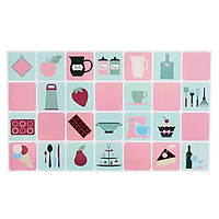 Waterproof Anti-oil Self Adhesive Wall Stickers Paper for Kitchen Use