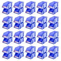 Combo 20 cặp Kệ Dụng Cụ Trung Duy Tân (15 x 25 cm) – Kệ nhựa đựng ốc vít, hàng hóa, đa năng, giúp sắp xếp gọn gàng đồ đạc
