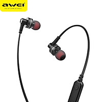 AWEI B990BL Wireless Earphone Bluetooth Earbuds Sport Headset Stereo Noise Cancelling Earphones For iphone Samsung Phone Phones