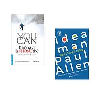 Combo 2 cuốn sách: You Can - Không Gì Là Không Thể + Khởi nghiệp công nghệ - Người hùng ý tưởng
