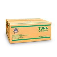 Sea Crown cá ngừ sốt ớt (NK Thái Lan)-Thùng 48 lon