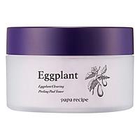 Bông Toner Chiết Xuất Cà Tím Papa Recipe Eggplant Clearing Pelling Pad Toner (35 Miếng)