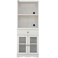 Tủ Bếp 6275079  Bistro Japan (58 x 39.5 x 150 cm) - Trắng Có Vân