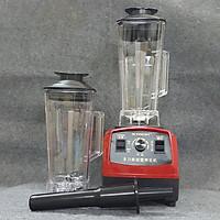 Combo Máy xay sinh tố công nghiệp Skymwont 1500W và 1 cối thêm 2 lít (1 Máy + 2 cối xay) - Hàng nhập khẩu