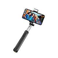 Gậy Tự Sướng Hoco K10A Có Giá Tripod, Đèn Led Hổ Trợ Chụp Selfie, Nút Bluetooth -Tặng Gía Đỡ Điện Thoại - Chính hãng