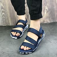 Giày sandal nữ siêu nhẹ hiệu MOL thích hợp mang đi học MS2Ch2