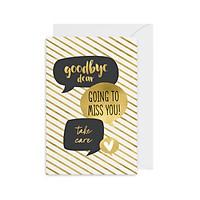 Thiệp tạm biệt chia tay Farewell- Goodbye Dear Fairy Corner