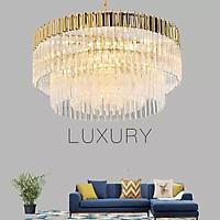 Đèn chùm pha lê cao cấp thiết kế sang trọng trang trí phòng khách, nhà hàng, khách sạn, quán cafe TPL-17020/800