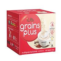 Sữa hạt dinh dưỡng - iLite Grainplus Skimmed Milk  - GI thấp - ít đường - Chính hãng từ Singapore