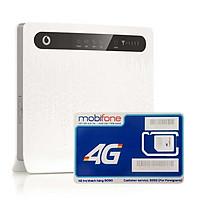 Huawei B593 | Thiết bị phát wifi 3G/4G Chuẩn LTE Tốc độ cao + Sim 4G Mobifone Khuyến Mãi 60GB /Tháng - Hàng nhập khẩu