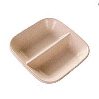 Combo 10 Đĩa đựng gia vị 2 ngăn (màu ngẫu nhiên)