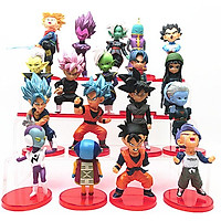 Đồ chơi mô hình, đóng vai - Mô hình 18 nhân vật trong truyện 7 viên ngoc rồng
