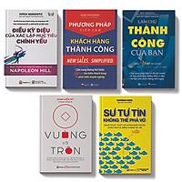 Bộ sách 5 cuốn:Sự tự tin không thể phá vỡ, Làm chủ thành công của bạn,Điều kỳ diệu của xác lập mục tiêu chính yếu,Phương pháp tiếp cận khách hàng thành công,Vuông và tròn
