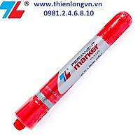 Bút lông dầu Thiên Long; PM-09 mực đỏ