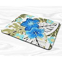 Miếng lót chuột mẫu Hoa xanh dương