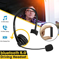 bluetooth 5.0 Trucker Headphones Noise Reduction Double Devices Connection Headset With Microphone