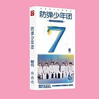 Hộp ảnh Postcard BTS MAP OF THE SOUL : 7 ON in hình nhóm nhạc tặng thẻ VCone