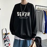 Áo Sweater Nỉ Bông Seven 3 màu ( unisex nam nữ đều mặc được)