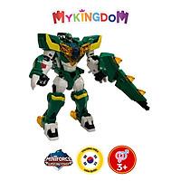 Đồ Chơi Mô Hình MINIFORCE Robot Siêu Khủng Long T-Rex Tên Lửa Cùng Siêu Nhân Jacky Nha 304043