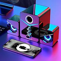 Bộ loa Bluetooth không dây MCV1 - Kết hợp âm bổng và âm trầm 9D - Tương thích mọi thiết bị