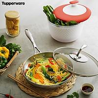 Chảo Tupperware T Chef Series Frypan 24cm (nắp kính)