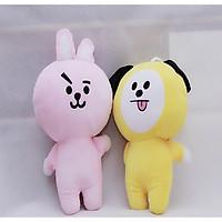 Combo 2 Gấu bông cao cấp  BTS Chimmy và Cooky
