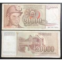 Tiền xưa Nam Tư 20000 dinara, quốc gia không còn tồn tại