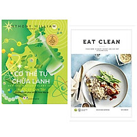 Combo 2 cuốn: Cơ Thể Tự Chữa Lành: Nước Ép Cần Tây + EAT CLEAN Thực Đơn 14 Ngày Thanh Lọc Cơ Thể Và Giảm Cân