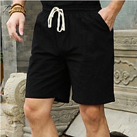 quần sooc nam, quần đùi nam chất đũi siêu thoáng mát nhiều màu