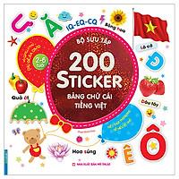 Bộ Sưu Tập 200 Sticker - Bảng Chữ Cái Tiếng Việt (Tái Bản)