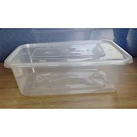 Bộ 10 hộp nhựa vuông 500ml đựng thực phẩm bảo quản trong tủ lạnh, đựng kimchi-Song Long