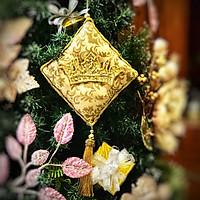 Gối Trang Trí Giáng Sinh Hình Vương Miện Noel Pillow Orn With Crown 8