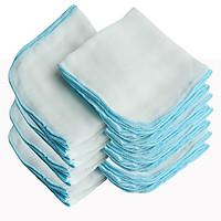 Combo 30 khăn xô Baby xuất Nhật 3 lớp 30cm x 35cm - Giao màu ngẫu nhiên