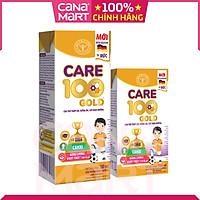 [Thùng 48H x 180ml] Sữa pha sẵn Nutricare Care 100 GOLD cho trẻ thấp còi, biếng ăn từ 1 tuổi
