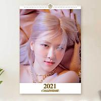 Lịch Rose Blackpink 2021 lịch treo tường khổ A3