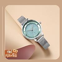 Đồng hồ nữ JULIUS Hàn Quốc JA-1216 dây thép mặt đính đá (nhiều màu)