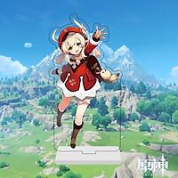 Mô hình standee in hình KLEE nhân vật GENSHIN IMPACT game anime chibi Acrylic mica trang trí trưng bày