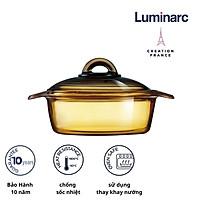Nồi thuỷ tinh 1L Luminarc Blooming Amberline - LUBLH6721