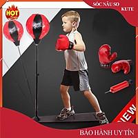 ️  bóng tập phản xạ,Bóng đấm boxing phản xạ + Găng tay boxing+ Bơm TRẺ EM