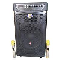 Loa kẹo kéo karaoke bluetooth Ronamax Mu15 (Đen) - Hàng nhập khẩu