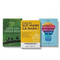 Sách COMBO 3 cuốn Vượt lên chính mình + Khám phá tiềm năng trong bạn tối đa hóa sự tự tin + Đường đến sức mạnh cá nhân
