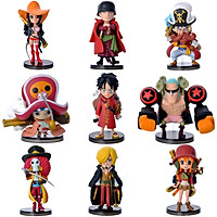 Combo mô hình team Luffy - One Piece (9 nhân vật)